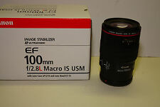 Canon EF 100 mm F/2.8 USM L IS Macro Objektiv