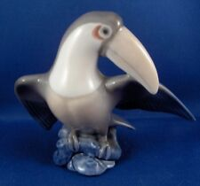 Royal Copenhagen Porcelain Toucan Bird Figurine Figure Porzellan Vogel Figur