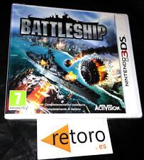 BATTLESHIP Nintendo 3DS PAL Español NUEVO Precintado FACTORY SEALED Activision