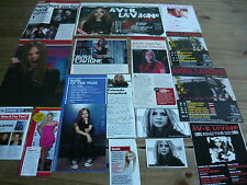 AVRIL LAVIGNE - MAGAZINE CUTTINGS COLLECTION (REF ZA)