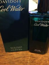 Cool Water by Davidoff 4.2 oz Eau De Toilette Spray for Men New In Box