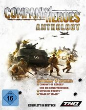Company OF HEROES ANTHOLOGY + OPPOSING FRONTS + Valle of valor tedesco come nuovo