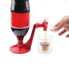 Stunning Mini Upside Down Drinking Cola Beverage Hand Pressure Water Dispenser