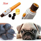 Pet Dog Cat Nail Trimmer Tool Grooming Tool Care Grinder Clipper Electric Kit HG