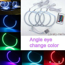 NEW Premium Angel Eye RGB Multi-Color LED SMD For BMW E46 Non-Projector 3 series