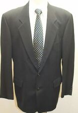 Hugo Boss Corleone Catania Black Men Blazer Wool 44R 2 Buttons Germany Made