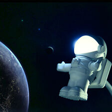Astronaut Spaceman USB LED Floating Adjustable Night Light