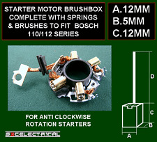 STARTER MOTOR BRUSHES BRUSHBOX FOR SOME BOSCH GEAR REDUCTION UNITS 135015