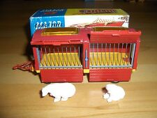 CORGI TOYS MAJOR 1123 Chipperfields Circus Animal Cage in Repro-Box