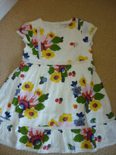 MINI BODEN GIRLS MIDSUMMER BOHO DRESS, MIDSUMMER FLORAL 7-8 YEARS. BNWOT 33435