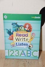LeapFrog Activity Book Read Write Listen 123 ABC For LeapReader