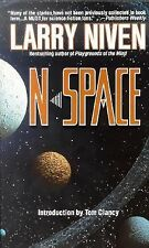 Larry Niven N Space Clancy Adventure Novel Science Fiction Mystery Action USA