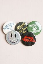 New! Brandy Melville 5 Button Pin Set Bundle Nwt! The Perfect Gift!