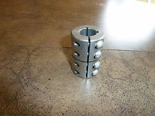 RULAND COUPLING 3/4 X 3/4 BORE STAINLESS STEEL