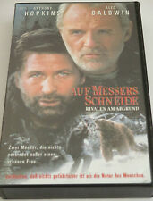 Auf Messers Schneide - VHS/Thriller/Anthony Hopkins/Alec Baldwin/FOX