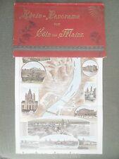 14488 Glaser Reno Panorama di Cöln fino a Magonza in farblithographie colonia viste