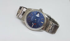 RARE VINTAGE ROLEX OYSTERDATE PRECISION 6694 BLUE MICKEY MOUSE DIAL MAN'S WATCH