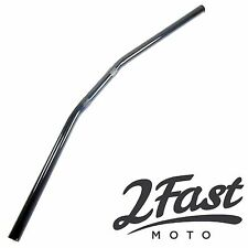 Triumph BSA Norton Moto Guzzi Black Drag Handlebar 7/8 Cafe Racer Chopper