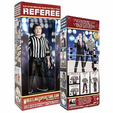 "WWE 7"" Inch Three Counting And Talking Wrestling Referee Action Figure Toy NEW"