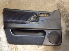 96-97 VW Passat B4 TDI Right Front Door Panel Black Leather 3A0 867 011 AT