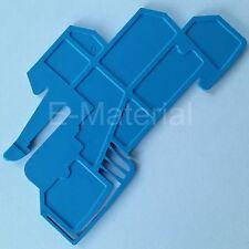 WHP WDL 2.5/S BL Weidmüller Abschluss und Zwischenplatte, Halteplatte - blau