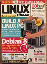 Linux Format Build PC Free DVD Master Systemd Tutorials July 2015 FREE SHIPPING