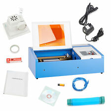 40W High Precision CO2 Laser Cutting Engraving Engraver Machine  USB