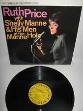RUTH PRICE With SHELLY MANNE & HIS MEN – At the Manne Hole – vinyl LP re.