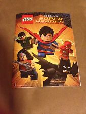 SDCC 2015 LEGO SUPER HEROES BATMAN SUPER MAN COMIC BOOK WITH POSTER EXCLUSIVE