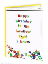 Brainbox Candy Rude birthday greetings card funny offensive humour cheeky joke
