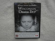 Wisconsin Death Trip DVD R0/ALL-James Marsh-SHOCKING TRUE DOCUMENTARY RARE NEW