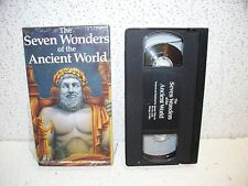The Seven Wonders of the Ancient World VHS Video Out of Print