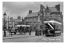 pt0998 - Trams at Eccles Cross , Lancashire - photo 6x4