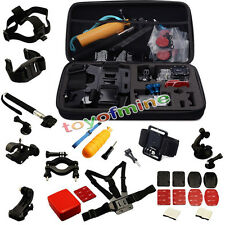 30 All-in-1 Profesional Kit Accesorios Bundle para GoPro HD Hero 4 3 + 2 SJ4000