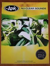 Ash Nu-Clear Sounds Sheet Music Book Guitar Tablature Lyrics Chord Symbols