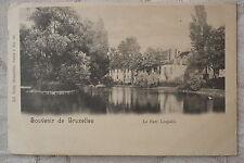 """CPA """" Souvenir de BRUXELLES - Le Parc Léopold"""
