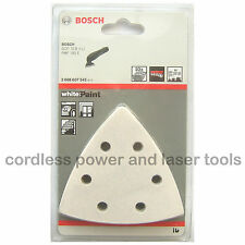 10 Bosch PAINT Sanding Sheets Mixed Grit for PMF 180 E Multi Tool 2608607542