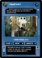 Tempest Scout 3 (2000 copyright) [played] ENDOR star wars ccg swccg