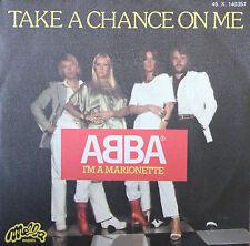 """Vinyle 45T Abba """"Take a chance on me"""""""