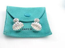 Tiffany & Co RARE Silver Shell Swirl Cuff Link Cufflink Cufflinks!