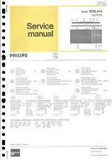 PHILIPS Original Service Manual per 90 RL 414