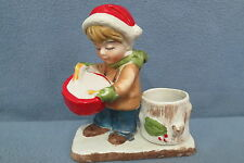 Verona Vergasi Comar Industries Drummer Boy Votive Candle Holder Figurine 1979