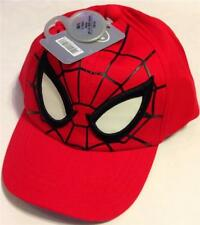 Disney Store Kids Red Spiderman Hat Baseball Cap M/L (7-10 years) NEW