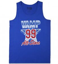 Vampire Life Vamp All Stars Muscle T Shirt Tank Blue  Size S Small