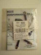 SCALEXTRIC Ref. 8535 Cable adaptador transformador TR-2 EXIN