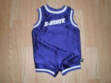 Infant/Baby Kansas State Wildcats 3/6 Mo Starter Basketball Jersey