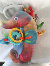 ERIC CARLE Mister Seahorse Plush Baby Toy Rattle Sensory Kids Preferred
