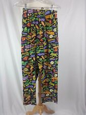 Superman Batman Flash DC Comics Sleep Pajama Lounge Pants Sz Medium 30 x 30 EUC