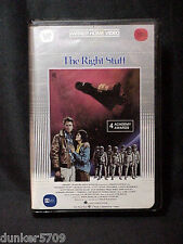 BETA FORMAT THE RIGHT STUFF WARNER BROS VIDEO 1984 2 PART APPROXIMATELY 386 MIN