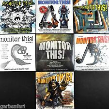 Monitor This! 7 CD Lot New Promo Indie Alt Rock Christmas Bonus Tracks 2010-2013